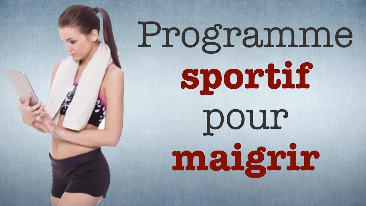 Perdre du poids grace au sport