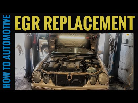 How to Replace the EGR Valve on a 2002-2009 Mercedes E320 W211