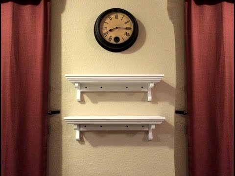 BUILD: Wall Shelves