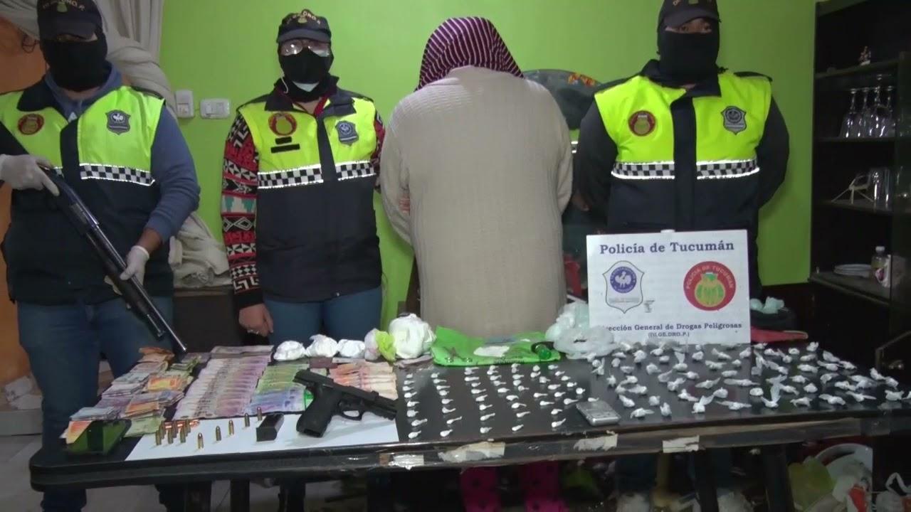 Atrapan a un vendedor de drogas y secuestran más de 100 'barullos' de marihuana y cocaína