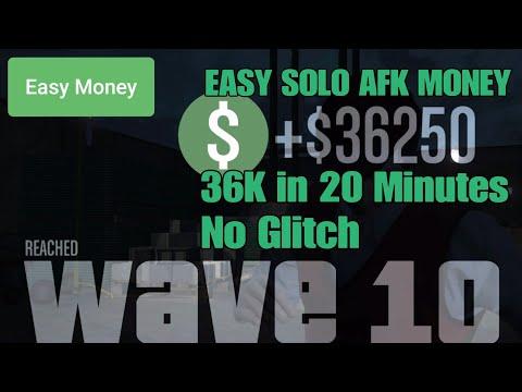 Gta Online Fun Easy Solo Money AFK $36k In 20 Minutes, No Glitch
