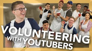 Volunteering with YouTubers