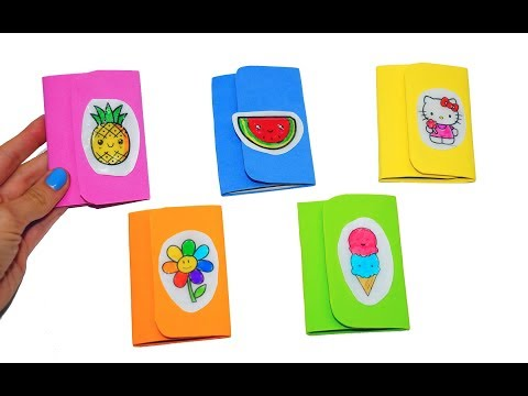 5 DIY NOTEBOOKS IDEAS | Back to School Supplies You NEED To Try | DIY mini notebook easy | Julia DIY