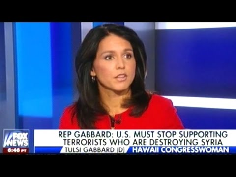 "Tulsi Gabbard ""First! I Wanna Make A Correction To Your Intro! I Am NOT A Defender Of Assad!"""