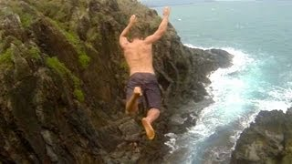 Cliff Jumping Hawaii - Proof