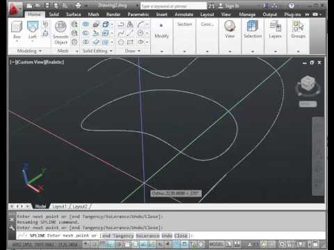 AutoCAD 2013 Roft โดย รัฐวิสุทธิ์  กล่อมจิตต์