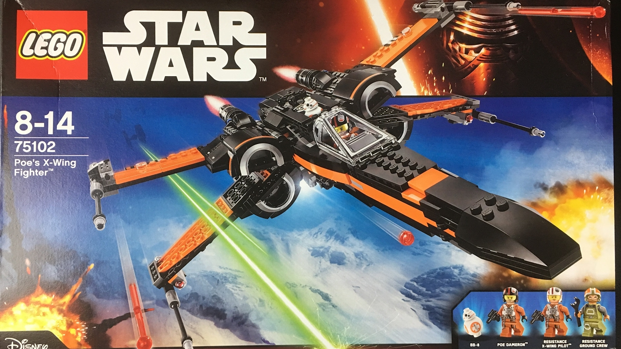 Lego star wars poe s x wing fighter review 75102 youtube - Lego Poe S X Wing Fighter 75102 4k Uhd Deutsch Review