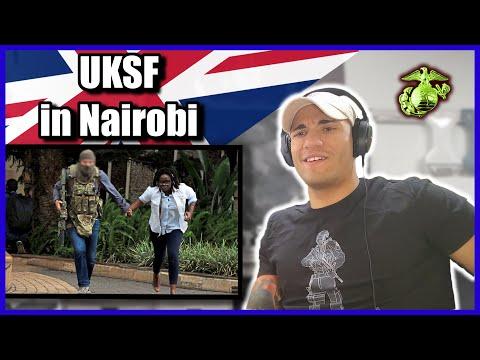 Marine reacts to UKSF in Nairobi