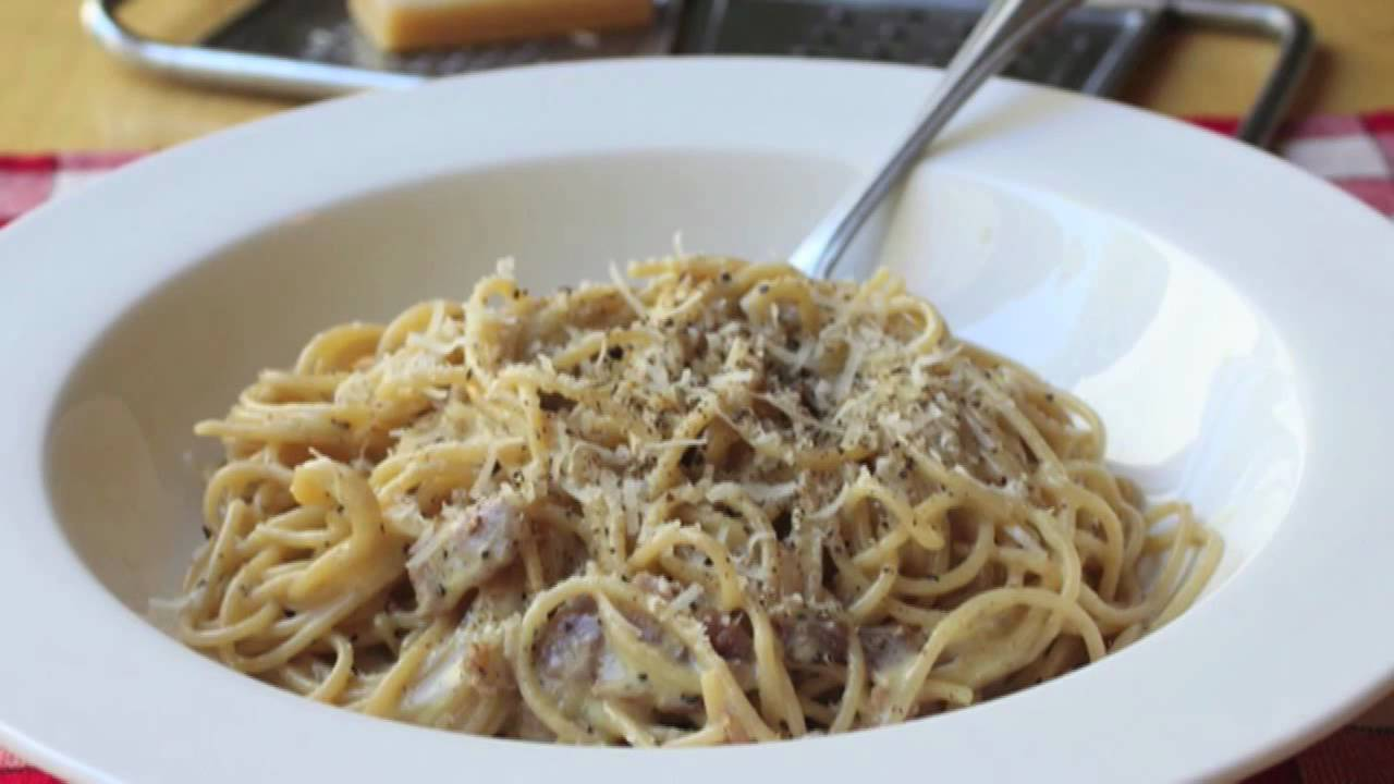 Food Wishes Recipes - Spaghetti Alla Carbonara Recipe ...