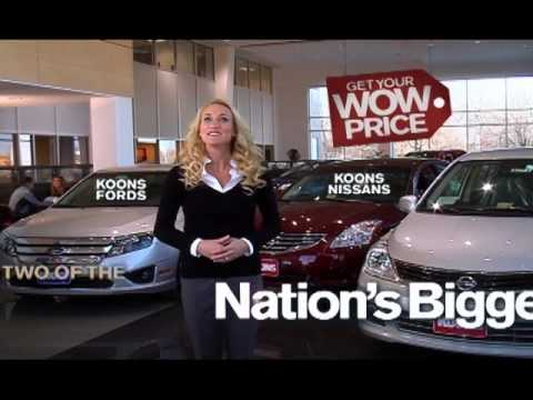 Nice Koons Falls Church Ford And Falls Church Nissan New Car TV Commercial