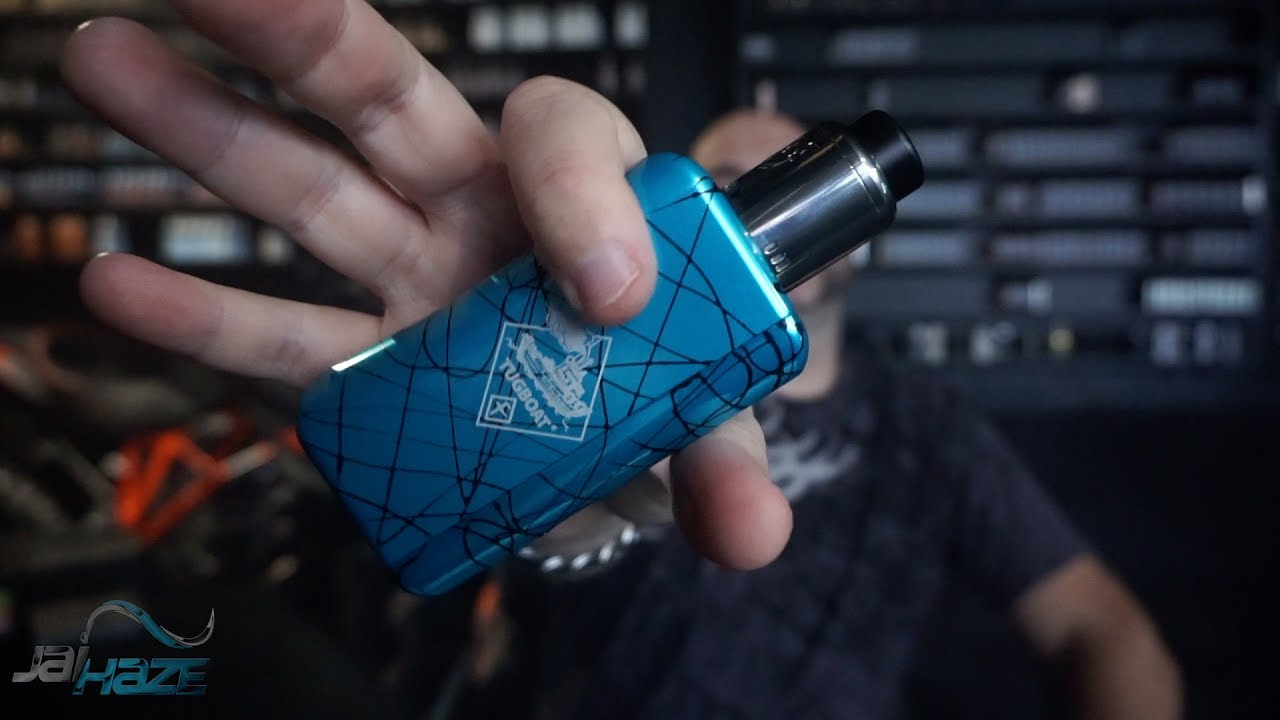 Tuglyfe DNA250 Box Mod Review and Rundown   Built-In Lipo Battery