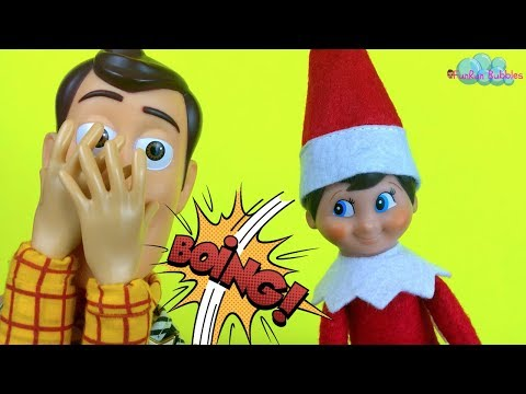 Elf on the shelf has Powers? Woody and Buzz finds out