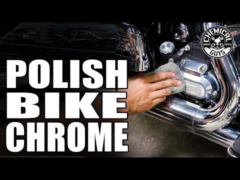 Polishing Motorcycle Metals To A Chrome Like Finish - Chemical Guys Moto Metal Polish