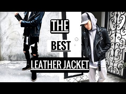 Chiếc áo Da Huyền Thoại Ai Cũng Nên Sở Hữu | Men's Street Style