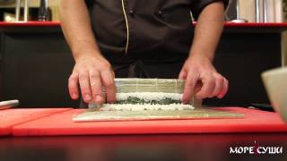 Море Суши мастер-класс ролл Калифорния с креветками(Заказчик: кафе