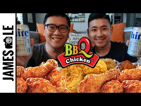 CHICKEN AND BEER MUKBANG
