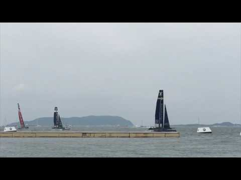 Louis Vuitton America's Cup World Series FUKUOKA 2016 #6: 公式レース2日目 レース・表彰式