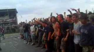 Caliban Wall of Death With Full Force 2007