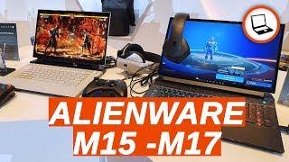 Alienware M15 / M17: le due nuove bestie di casa Dell (Computex 2019)