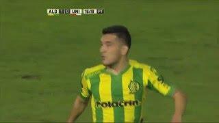 ¡Nereo la desvió con la vista! Aldosivi 1 - Unión 0. Fecha 13. Primera División 2016