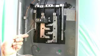 como instalar 120 voltios