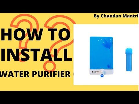 Installation Of Water Purifier