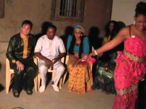 Fatou et Olivier Wedding anniversary Mauritanie