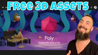 FREE 3D ASSETS? Getting Ready for Buildbox Game Jam