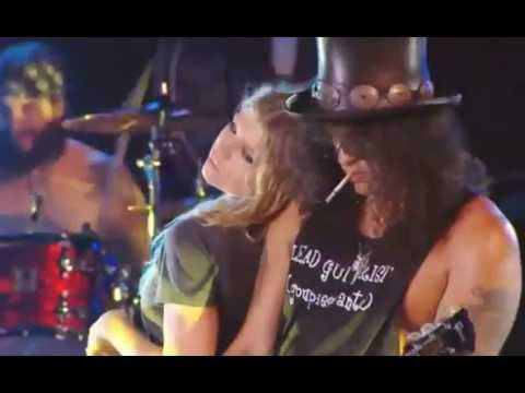 Slash y Fergie Sweet Child O' Mine (live)