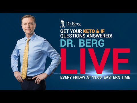 The Dr. Berg Show LIVE