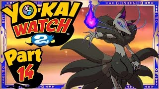 Yo-Kai Watch 2 - Part 14 | Dark Kyubi Quest! (Shinuchi Gameplay Walkthrough)