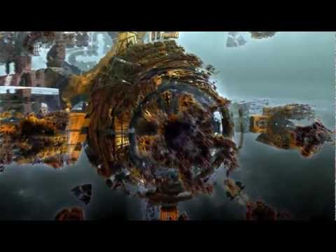 Trip through a 3D hybrid fractal box II