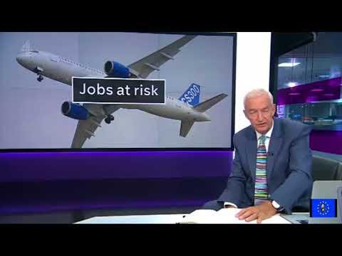Bombardier: May 'asleep at the wheel' as UK threatens US trade war