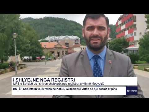 MPB e Serbisë po i shlyen siptarët nga regjistrat civilë në Medvegjë