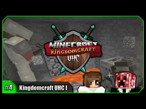 Professional Blast Mining! Lack Of Luck! || Minecraft Kingdomcraft UHC I [Episode 4]