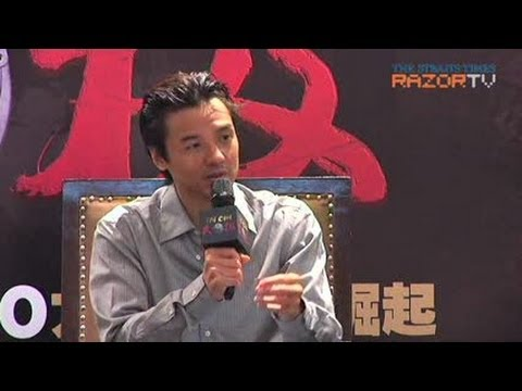 Stephen Fung the future of Chinese cinema (Tai Chi 0 Press Conference Pt 1)