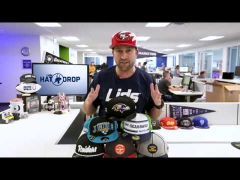 Lids Hat Drop - New Era Official NFL Sideline Collection 2019   LIDS