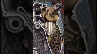 Yamaha T MAX 530 moteur entièrement ouvert