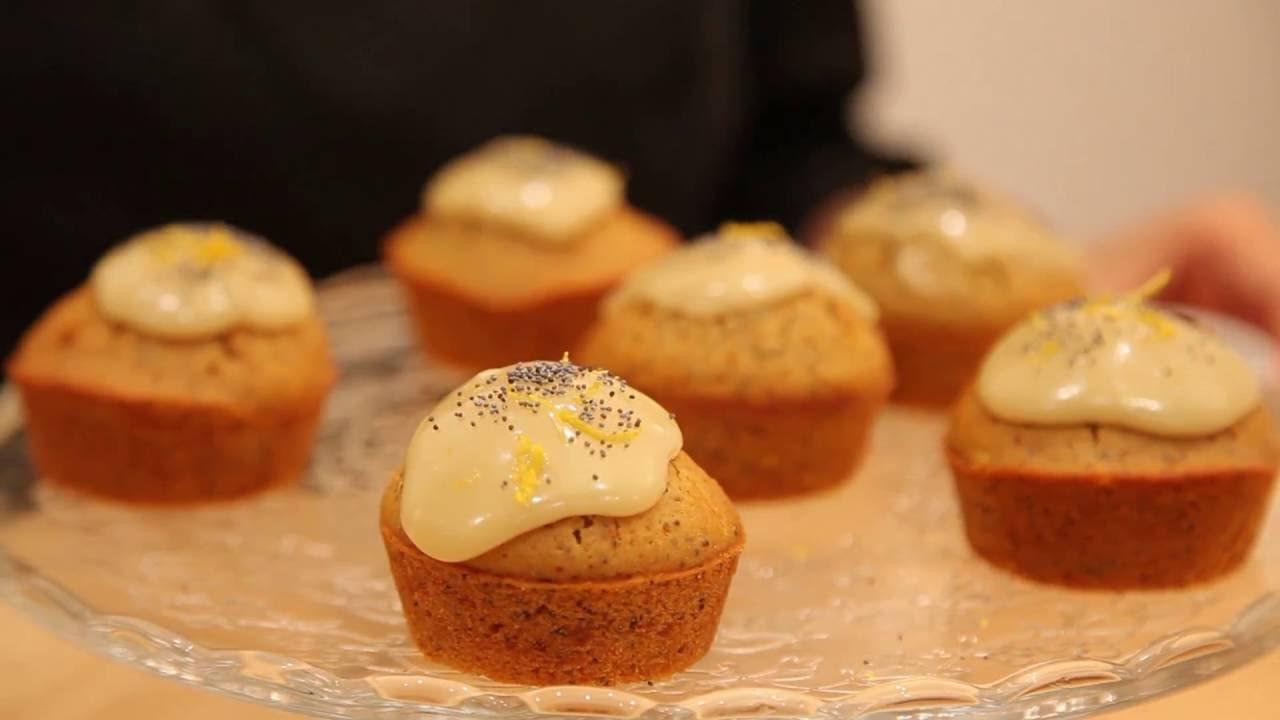 Receta Ecol�gica: Muffin de lim�n con semillas de amapola