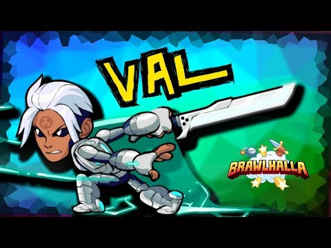 VAL: Sword + Gauntlets = SO GOOD! • 1v1s • Brawlhalla Gameplay
