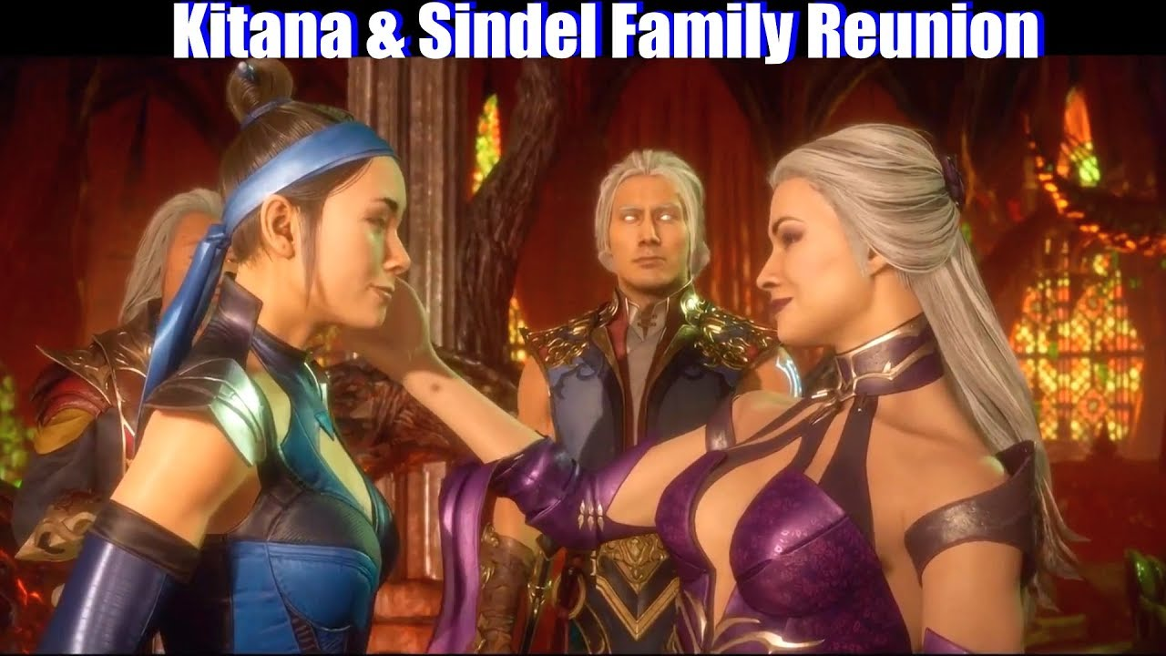 MK11 Kitana & Sindel Family Reunion - Mortal Kombat 11 Aftermath