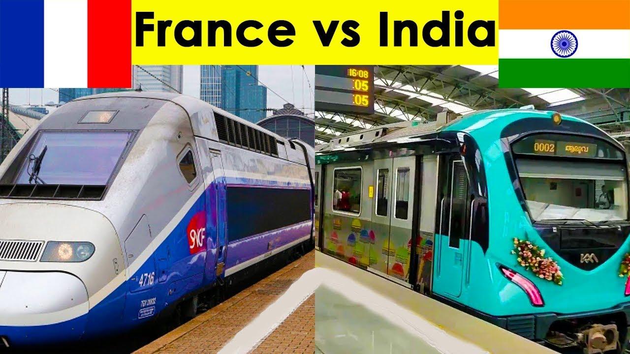 Indian Railways vs French Railways Complete Comparison (2018)