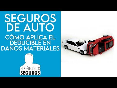 Seguros de auto: Cómo aplica el deducible en Daños Materiales