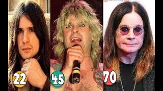 Ozzy Osbourne ♕ Transformation From 00 To 70 Years OLD