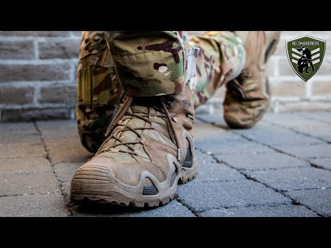 Choosing THE BEST Tactical or Hiking Boots + Fitting Tips for Military & Airsoft from YouTube · Duration:  4 minutes 55 seconds