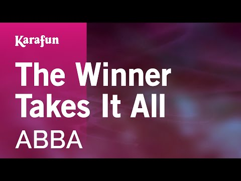 Karaoke The Winner Takes It All - ABBA *