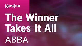The Winner Takes It All - ABBA | Karaoke Version | KaraFun