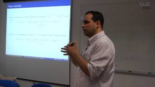"Conferencia ""Characterizations of convex approximate subdifferential calculus in Banach spaces"""