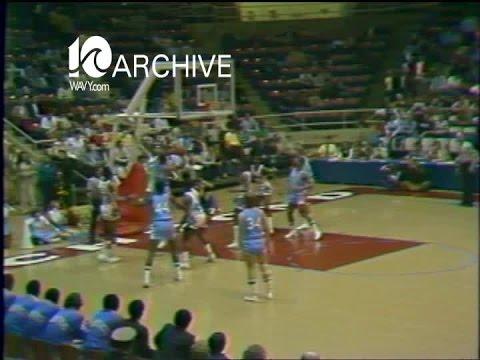 WAVY Archive: 1979 ODU-Georgetown Mens Basketball - YouTube