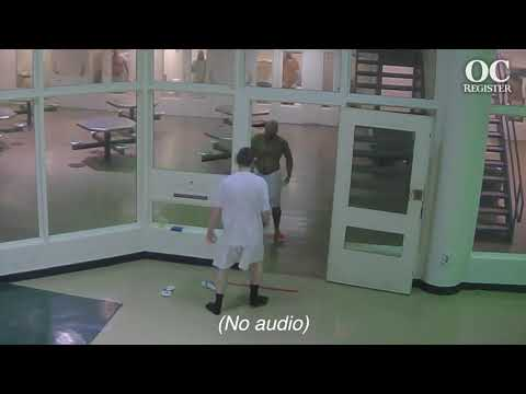 """JAIL SURVEILLANCE VIDEO:  Joshua Waring, The Son Of A """"Real Housewives"""" Star, Attack In Jail"""
